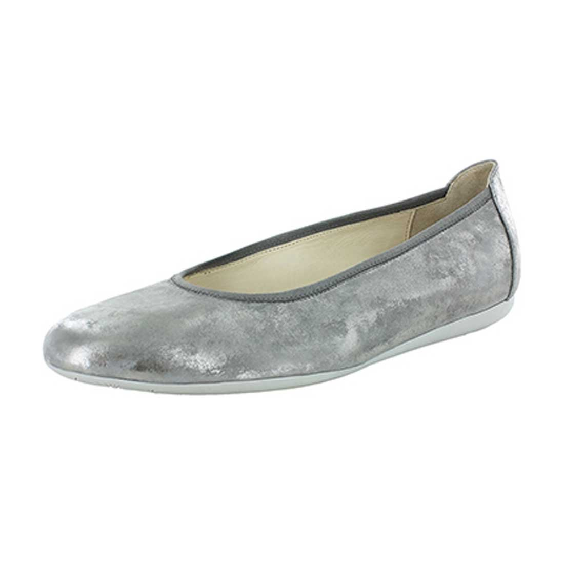 Wolky Comfort Ballet Pumps Tampa B01LXAMLII 43 M EU|Amalia Light Gray
