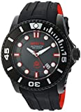Invicta Men's 'Pro Diver' Automatic Stainless Steel and Silicone Diving Watch, Color:Black (Model: 20205)
