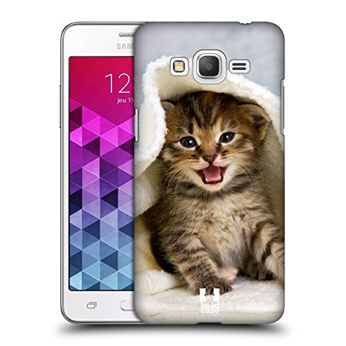 Head Case Designs Kitten in Warm Towel Cats Protective Snap-on Hard Back Case Cover for Samsung Galaxy Grand