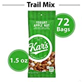 Kar's Yogurt Apple Nut Trail Mix Snacks - Bulk Pack of 1.5 oz Individual Single Serve Bags (Pack of 72)