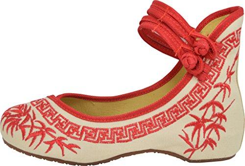 de femme TM pour red ville TANG lacets à Chaussures DYNASTY SAw6qpt