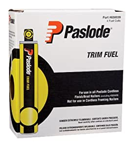 Paslode 650039 Short Yellow Fuel Cell 4 Pack For The