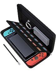 amCase Nintendo Switch Carrying Case Black