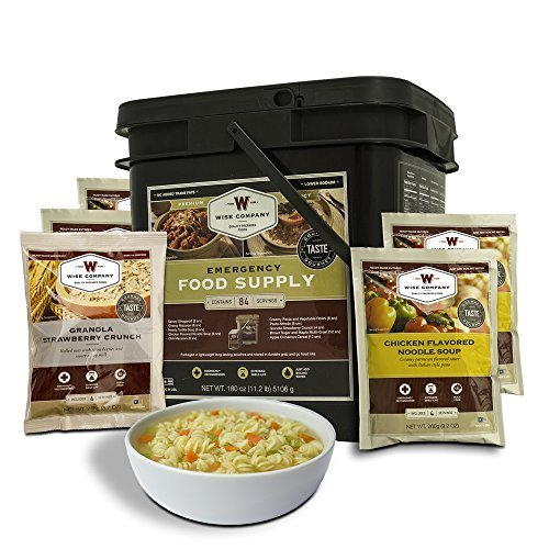Company Four (Wise Company 84 Serving Breakfast Entrée Grab and Go Food Kit)