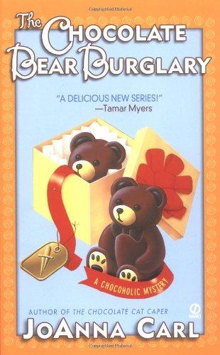 book cover of The Chocolate Bear Burglary