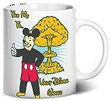 disney coffe maker - Dancing Participle Vault Dismal World Coffee Mug, 11oz, White