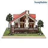 Desktop Wooden Model Kit Story House