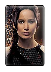 Ipad Case - Tpu Case Protective For Ipad Mini 2- Jennifer Lawrence As Katniss 1341097J88516334