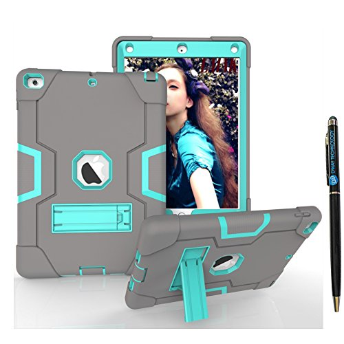 """New iPad 9.7"""" 2018 Case DWaybox B Style Contrast Color Desig"""
