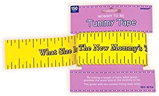 Amscan International Tummy Measure Game What Size is The New Mommys Tummy?
