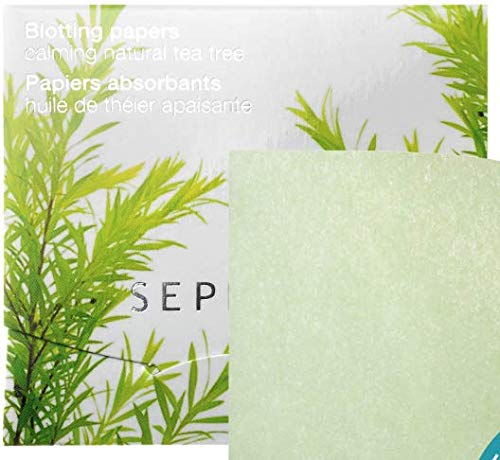 SEPHORA COLLECTION Blotting Papers SIZE 100 Sheets COLOR: Calming Natural Tea Tree by SEPHORA