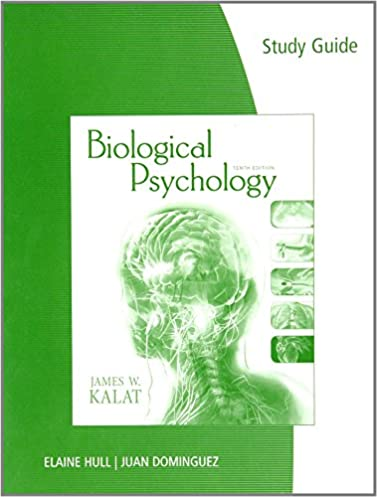 study guide for kalat s biological psychology 9780495809166 rh amazon com biological psychology study guide answers Psychology Mind Map