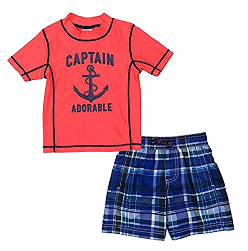 Carter's Baby Boys' Captain Adorable Rashguard Set 6-9 Months by Carter's