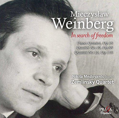 WEINBERG / ZEMLINSKY QUARTET / MNDOYANTS,NIKITA