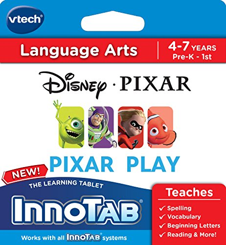 VTech InnoTab Software, Disney Pixar - Software Innotab 3s