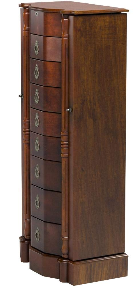 Hives and Honey 1004-382 Robyn Jewelry Armoire, 41'' H x 17.25'' W x 12.5'' D, Walnut by Hives and Honey (Image #8)