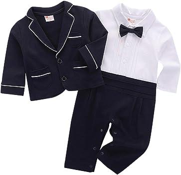 cool elves - 2 pcs Chaqueta de Bebés con Mono Recien Nacido para ...