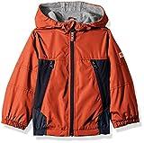 Osh Kosh Boys' Toddler Midweight Jacket, Edgy Orange/Navy/Grey, 3T