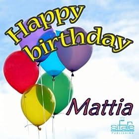 Amazon.com: Happy Birthday to You (Birthday Mattia