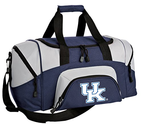 Broad Bay Small University of Kentucky Gym Bag Deluxe UK Wildcats Travel Duffel Bag (Wildcats Gym Bag)