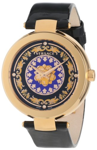 Versace Women's VK6010013 Mystique Foulard 38mm Rose Gold Ion-Plated Stainless Steel Quartz Diamond Watch