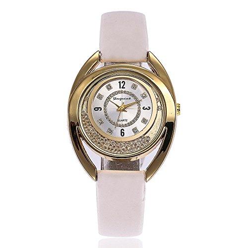 weant Reloj Mujer Tira Correa de Tela Reloj de Pulsera Moda Original Reloj Chica Digital Cuarzo
