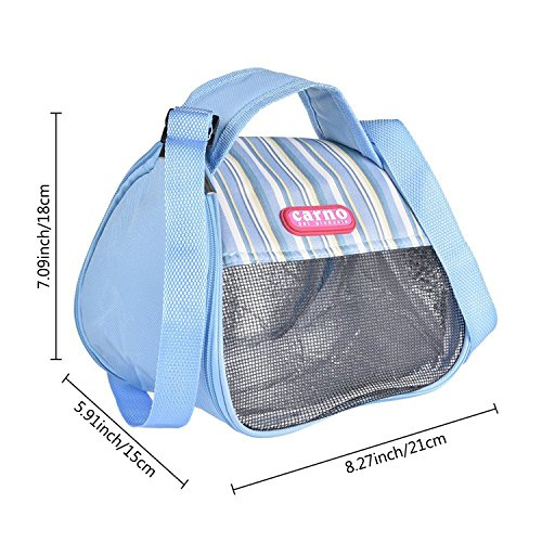 Product image of RYPET Hamster Carrier Bag - Portable Breathable Outgoing Bag for Guinea Pig Hedgehog Squirrel Chinchilla and Other Similar Sized Animal