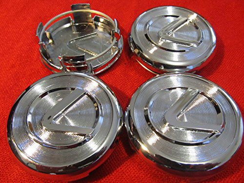 4pcs. NEW Lexus wheel center caps hub cap ES300 IS300 GS430 RX330 GS300 SET (Lexus Wheel Center Cap)