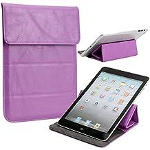 NuVur Universal Faux leather Stand & Case fits ZeePad ZeePad 7.0|Lilac