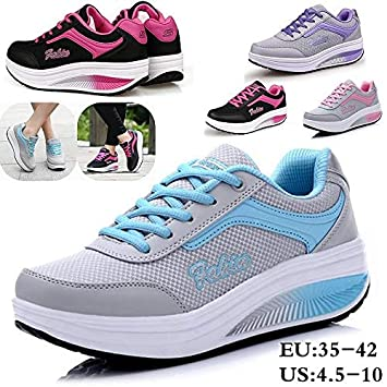 : Women Breathable Sports Shoes Casual Shoes Flats