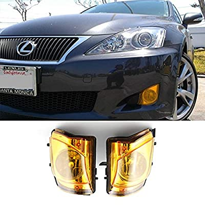 Fog Lights DRL Lamps For Lexus IS250 IS350 2006 2007 2008 2009 2010 Clear White/Yellow (Amber): Automotive