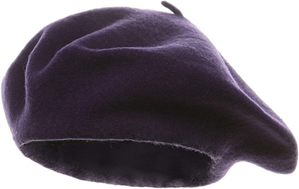 DPC/Scalar Wool Beret - Plum
