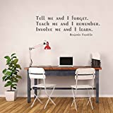 Benjamin Franklin Quotes Wall Decal