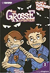 Grosse Adventures, The Volume 3: Trouble at Twilight Cave (Grosse Adventures (Graphic Novels)) (v. 3)