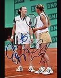 MARTINA HINGIS+KOURNIKOVA HAND SIGNED 8x10 PHOTO+COA SIGNED BY BOTH AWESOME