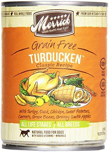 Merrick, Canned Dog Food, 5-Star Turducken 13.2 oz.