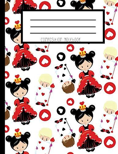 (Composition Notebook: Alice In Wonderland Evil Queen Of Hearts)