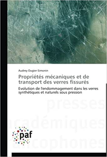 Livre gratuits en ligne Propriétés mécaniques et de transport des verres fissurés: Evolution de l'endommagement dans les verres synthétiques et naturels sous pression pdf ebook