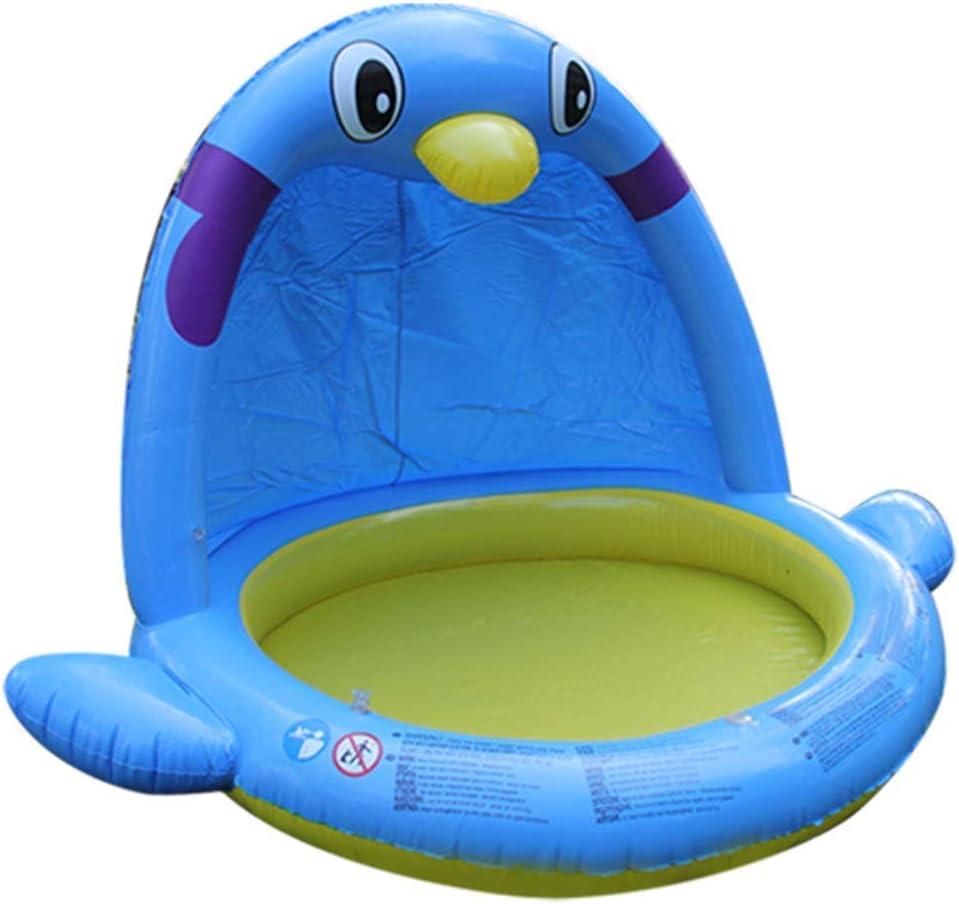 LFDHSF Piscina Inflable para bebés Fuente para Parque acuático Pingüino Piscina para niños Piscina Portátil para niños al Aire Libre Bañera para niños