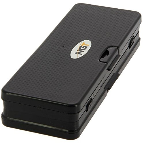 72/Carp Stiff Rig Wallet NGT/ Negro 25/x 9/x 4,5/cm 920 /Unisex FLA 6/Way