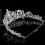 Tiaras and Crowns, Vofler 2 Pack Crystal Rhinestone