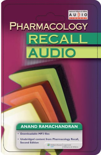 Pharmacology Recall Audio (Recall Series) by Brand: Lippincott Williams Wilkins