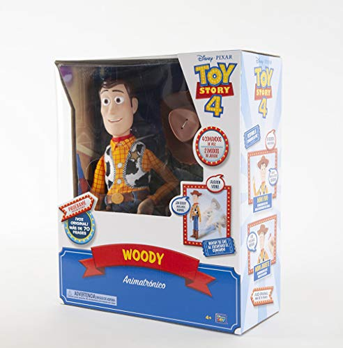 Toy Story 4 Sheriff Woody Interactive Drop Down Action Figure Drops On Command