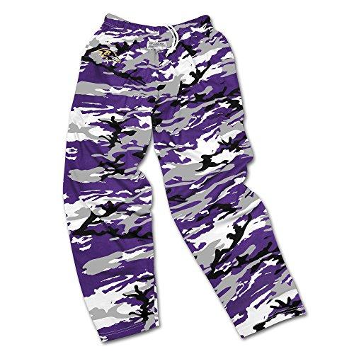 zubaz pants purple - 5