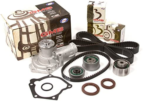 Evergreen TBK232WP Fits 2003 2 4L Mitsubishi Outlander SOHC 4G64 Timing  Belt Kit GMB Water Pump