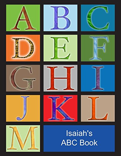 Search : Isaiah's ABC Book: African American Boy with Black Hair