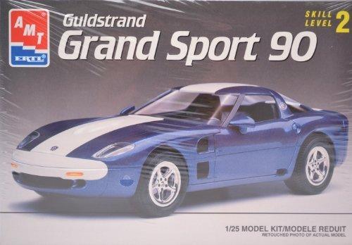 (#6461 AMT/Ertl Gulstrand Grand Sport 90 1/25th Scale Plastic Model Kit,Needs Assembly)