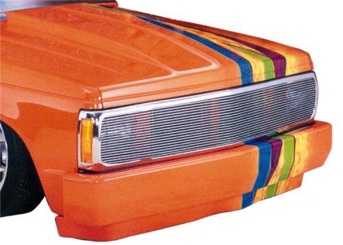 TRex Grilles 20220 Horizontal Aluminum Polished Finish Billet Phantom Grille Insert for Chevrolet S10 Blazer GMC Sonoma Jimmy ()
