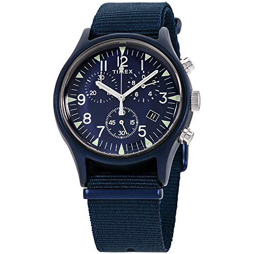 Timex MK1 Quartz Movement Blue Dial Men's Watch TW2R67600