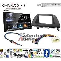 Volunteer Audio Kenwood DMX7704S Double Din Radio Install Kit with Apple CarPlay Android Auto Bluetooth Fits 2005-2007 Honda Odyssey